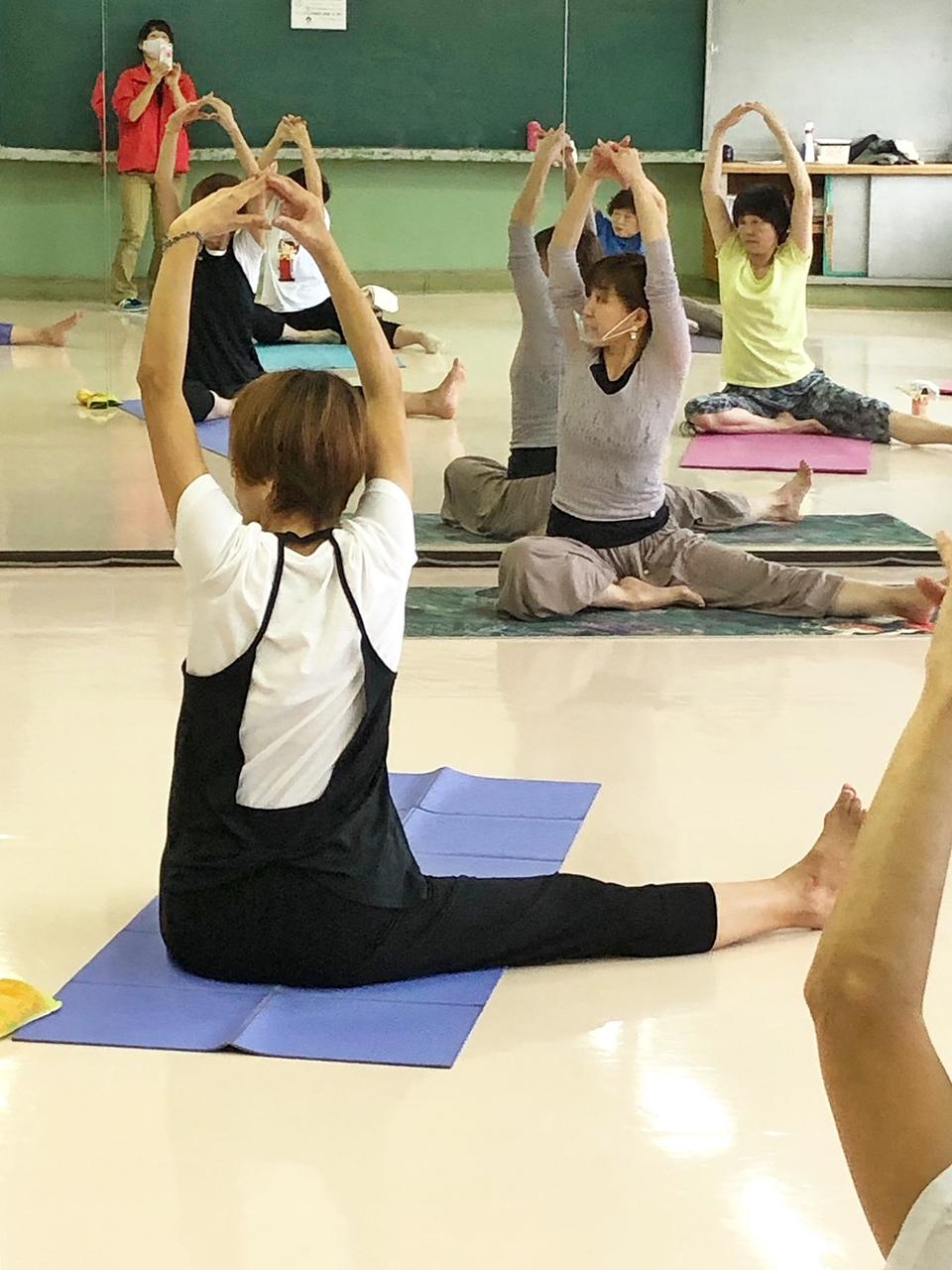 yoga triangle